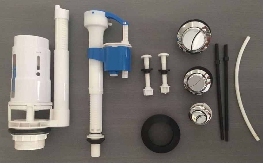 tanque de inodoro mecanismo silencioso cisterna llenar