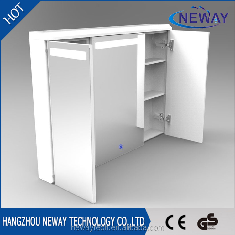 Bathroom Mirror Cabinet With Light Suppliers And Manufacturers At Alibaba