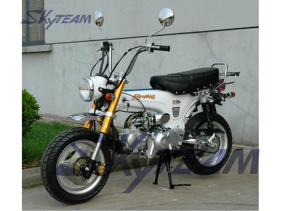 skyteam 125ccm 4 takt skymax dax pro tuning motorrad ewg. Black Bedroom Furniture Sets. Home Design Ideas