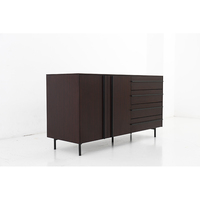 Hot Selling Modern Cabinet Wood 4 Drawer Chest With Artificial Plates