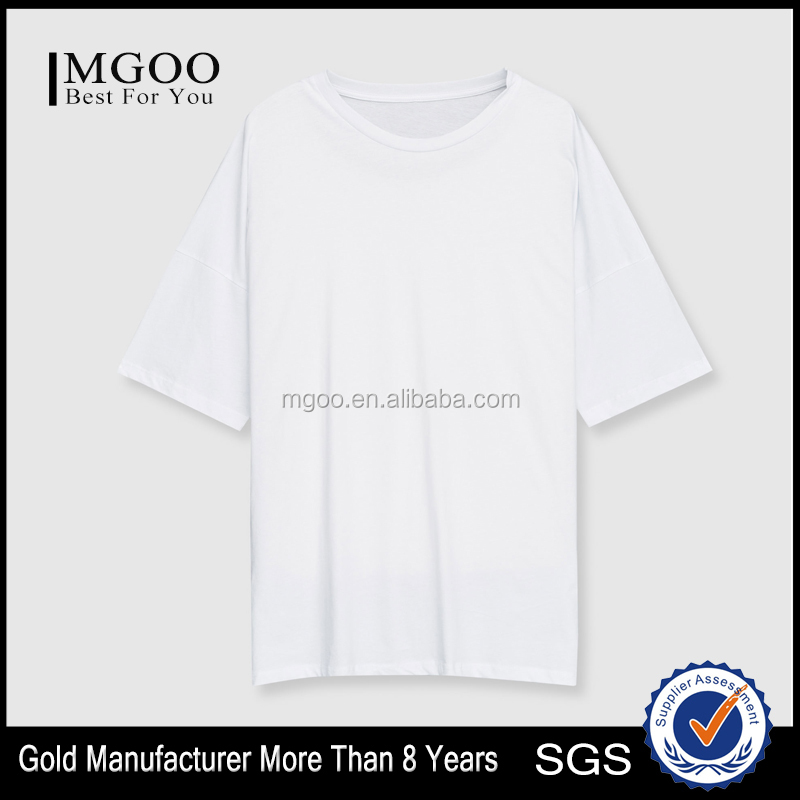 Short Fitted T-Shirt With Shoulder Stitching Oversize Half Sleeve Tee For Man Casual Style Customizable Logo Tshirt