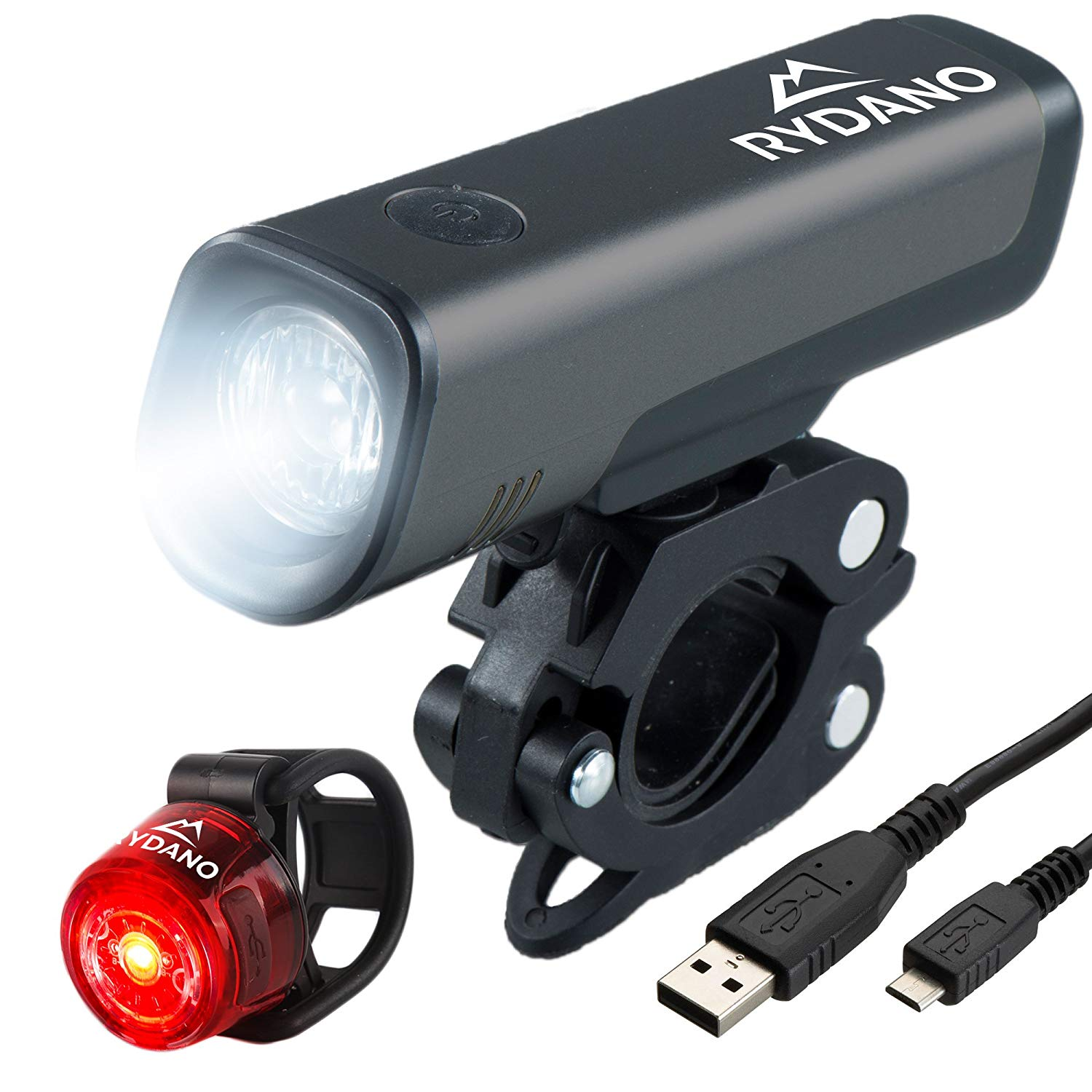 e4099d8401a Buy FREEMASTER USB Rechargeable Bike Light Set Waterproof LED ...