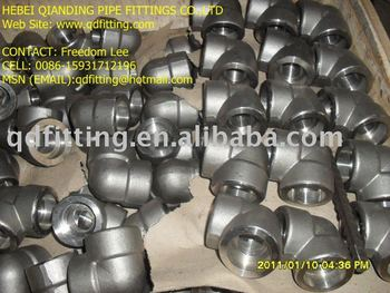 Forged Steel ASTM A182 F1/F5/F9/F11/F12/F22/F91 SW Elbow