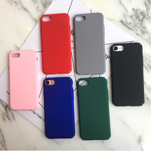 Most Popular Multi Color Plain Silicone Mobile Phone Case for i Phone 6s, 10 Colors Available