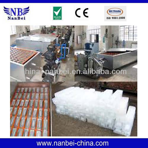 Easy to ship 1500kg/day block ice container
