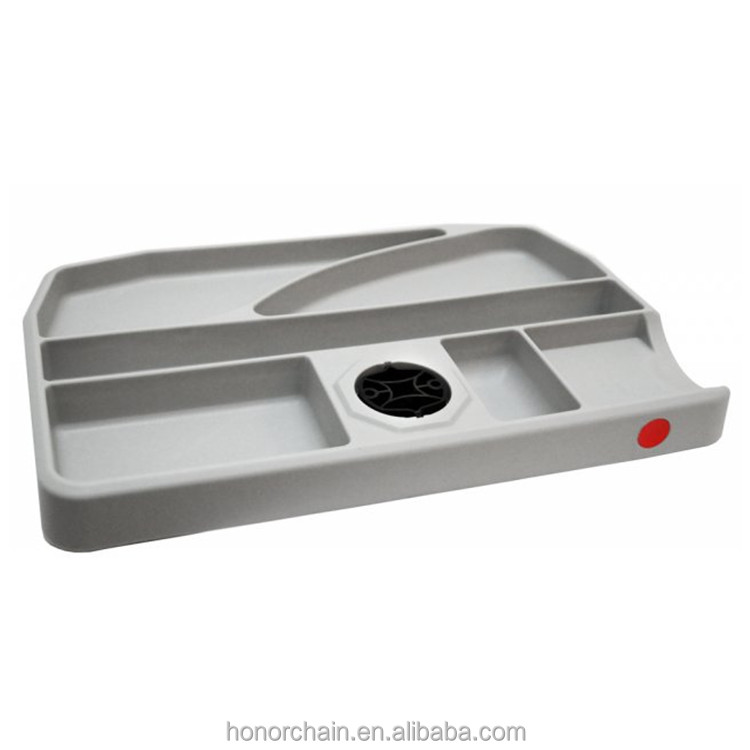 9040 TWIN Rotatable plastic Pen tray for tabletops