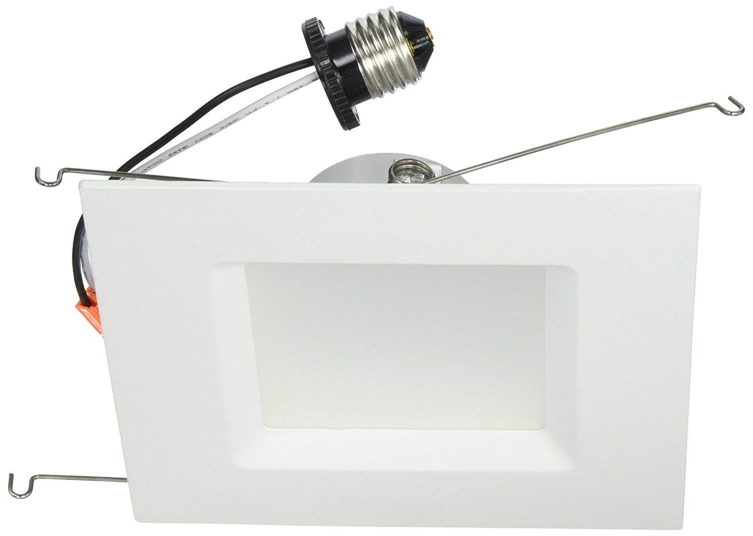 Goodlite G-83453 6 Inch Square Retrofit LED Recessed Lighting Fixture, 3000K Warm White, Fully Dimmable Downlight, UL Listed, 16W (120W Replacement), CRI 90 1200Lm