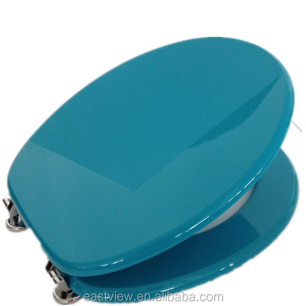 Blue Toilet Seats Blue Toilet Seats Suppliers And Manufacturers - Blue soft close toilet seat