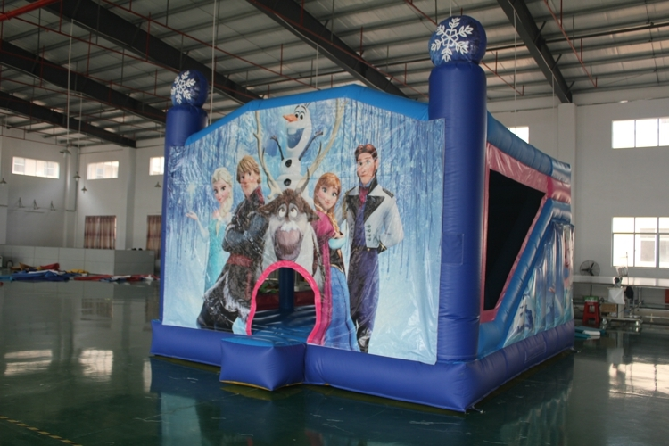 Funny exciting princess bouncy castle for sale
