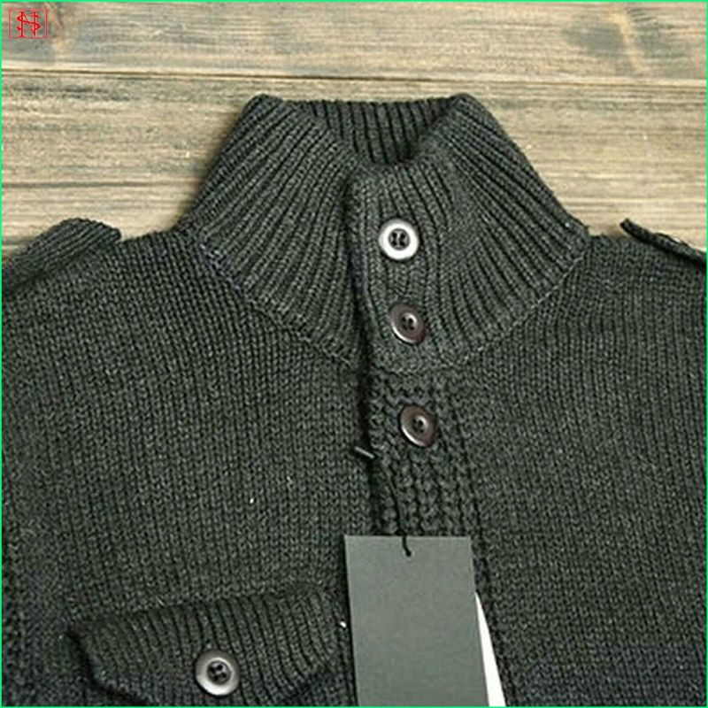 New design OEM winter army knit jumper