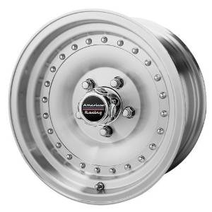 American Racing Outlaw II AR62 Machined Wheel with Clear Coat 16x8//8x170mm