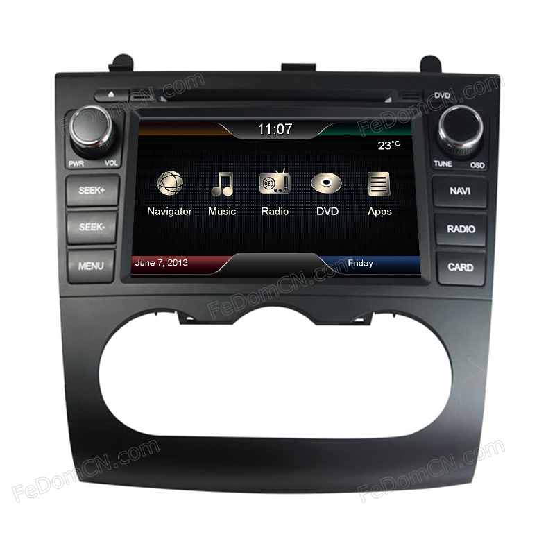 Touch Screen CPU Car DVD Player GPS Navigation for Nissan ...
