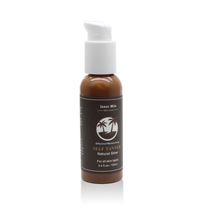 Organic Natural Sunless Tanning Lotion for Bronzing and Golden Tan