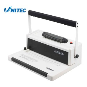 Factory price manual coil spiral book binding machine