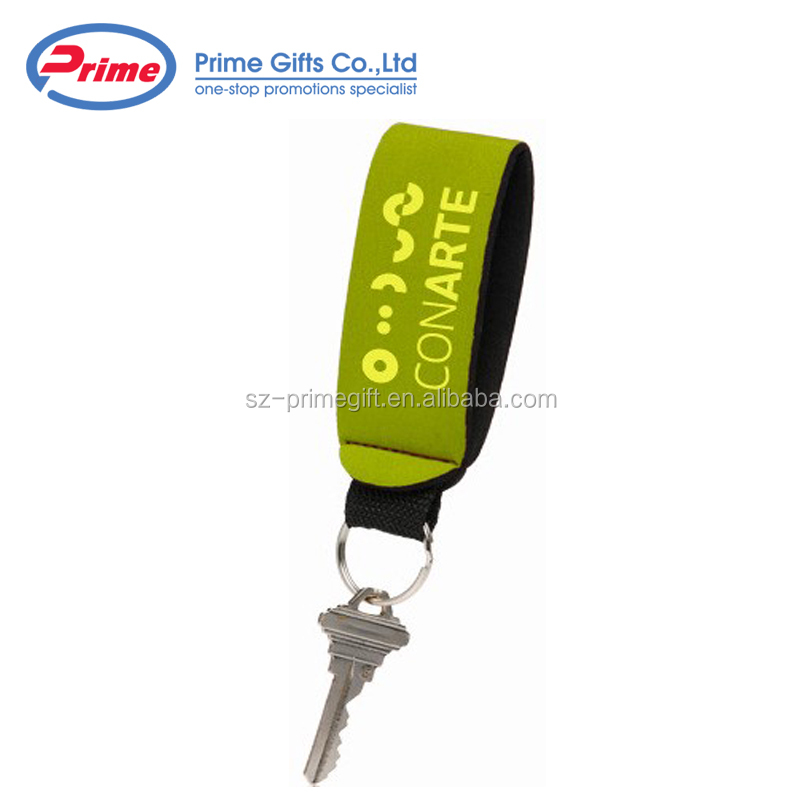 Custom Logo Wristband Keychain with Cheap Price