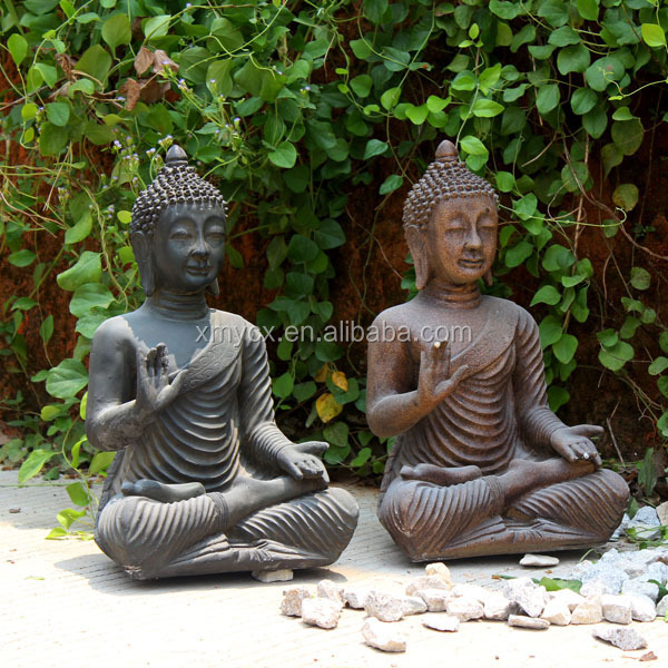 Polyresin monk statue hot new products for 2015