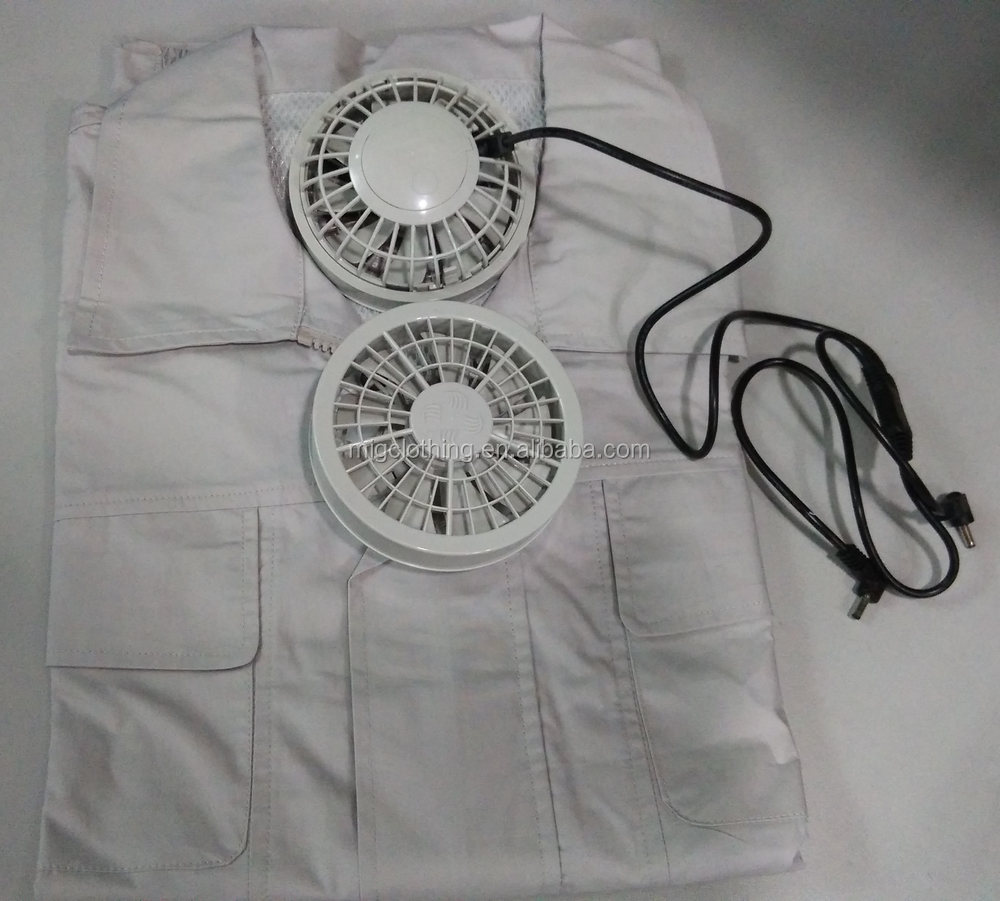 Cooling Jacket With Air Conditioning And Fans Buy Air