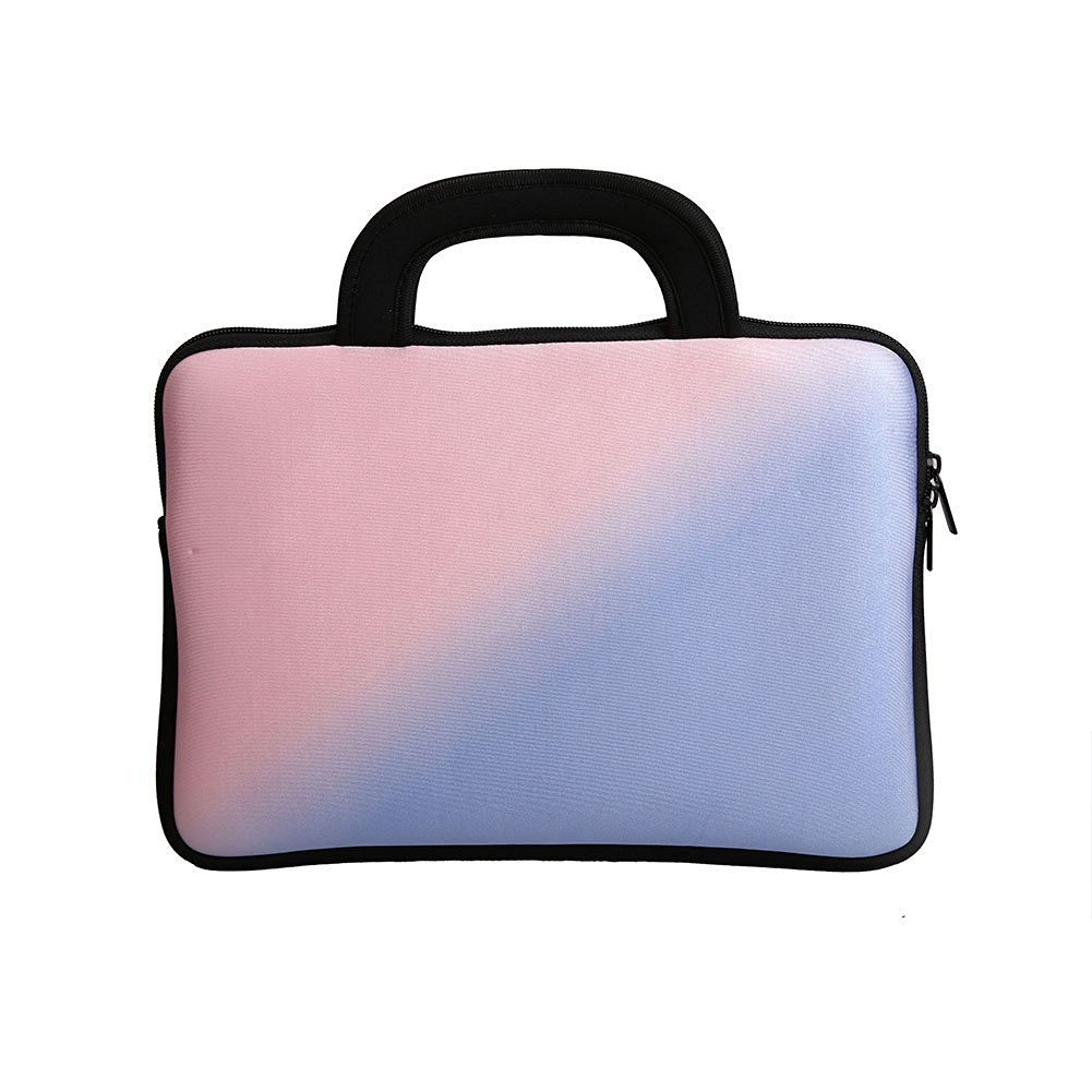 E - Living Pantone Color of The Year 2016 Rose Quartz & Serenity 7 - 8.4 Inch / 8.9 - 9 Inch / 10.1 Inch / 11.6 - 12.5 Inch / 13 - 13.3 Inch / 14 - 14.1 Inch Neoprene Sleeve / Case / Bag / Cover