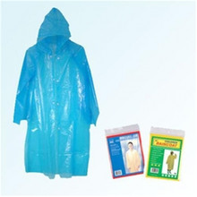 Promotional Disposable raincoat foldable Poncho Plastic PE raincoats
