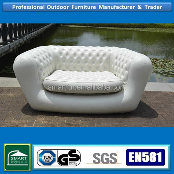 Popular white sectional inflatable chesterfield <strong>sofa</strong>