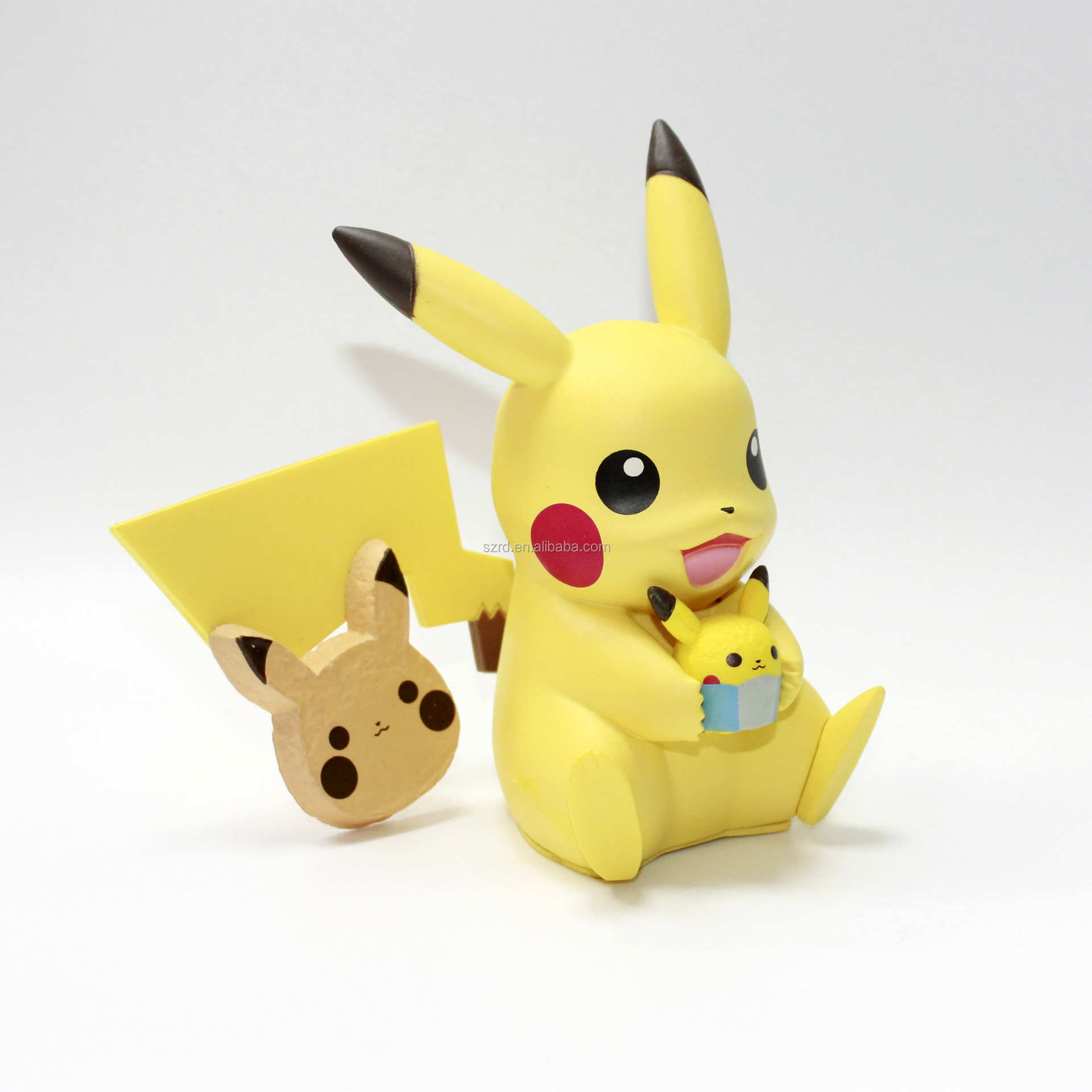 Pokemon statue collective poly-resin art figurine sculpture molds making