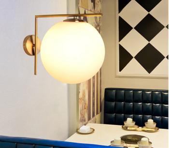 Product De À Lampe Verre Verre Boule Buy Suspension Applique applique Pendentif Led Lait Ampoule Salon En E27 Pour led Blanc XkiuPZ