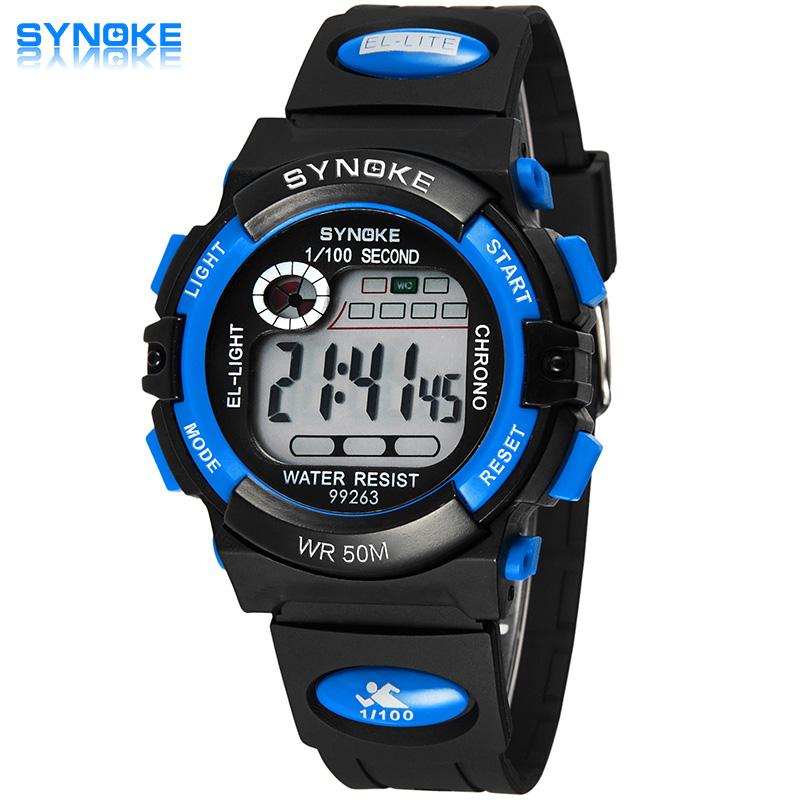 Children LED Digital Watch Relogio Feminino Sports Watches Kids Cartoon Jelly Relojes Mujer 2016 Waterproof Wristwatches