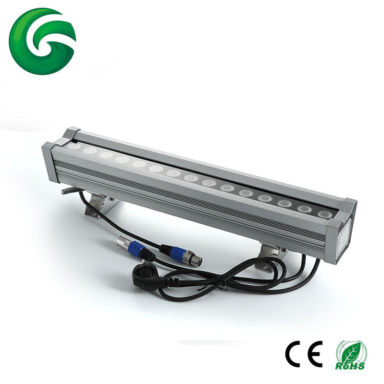 Factory direct good quality and durable led wall washer with dmx