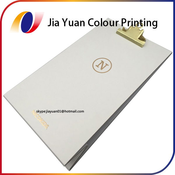 File folder printing ring binder gold stamping printing