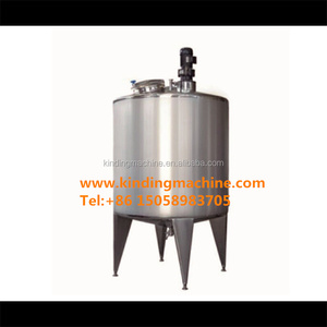 Agitator mixer type and liquid application mixing tank with stainless steel jacket
