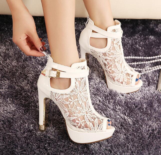 d3f3e39e8 Zm33180a حار بيع يتوهم السيدات أحذية عالية الكعب الصنادل الجملة الفتيات  قصيرة