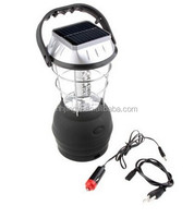 water resistant rechargeable hand cranking dynamo solar 36pcs led camping lantern