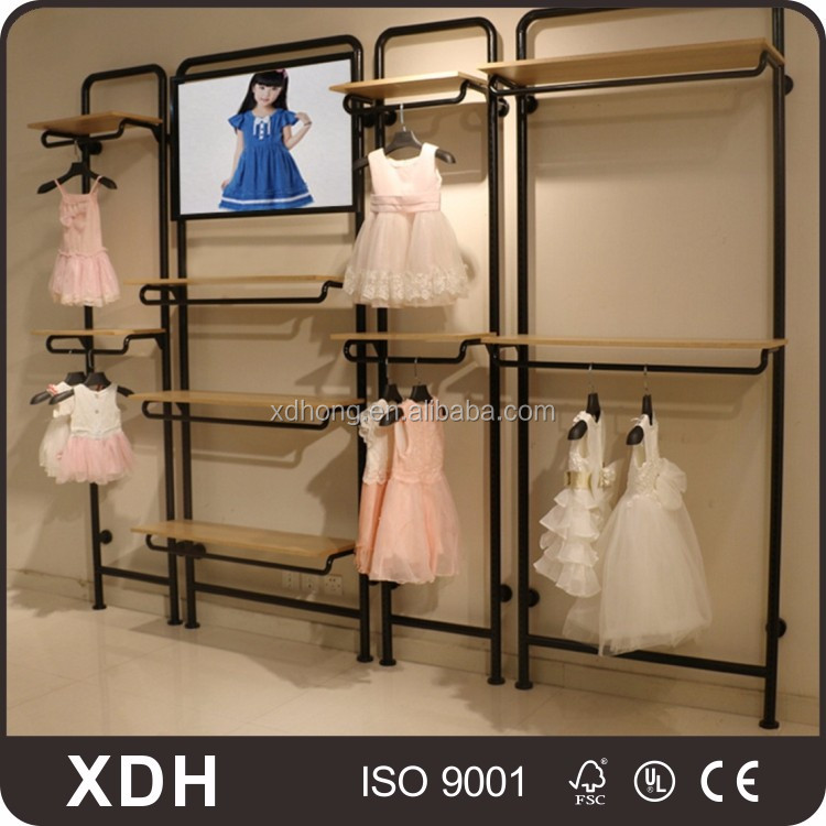Wand Stehend Baby Kleiderständer Ladeneinrichtungen Display Racks Fascinating Baby Dress Display Stand