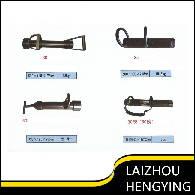 Square battering door ram for rescue forcible entry tools