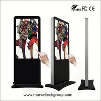 "TOP high quality 32"" wall mounted digital signage media with wifi funtion with optional customized"