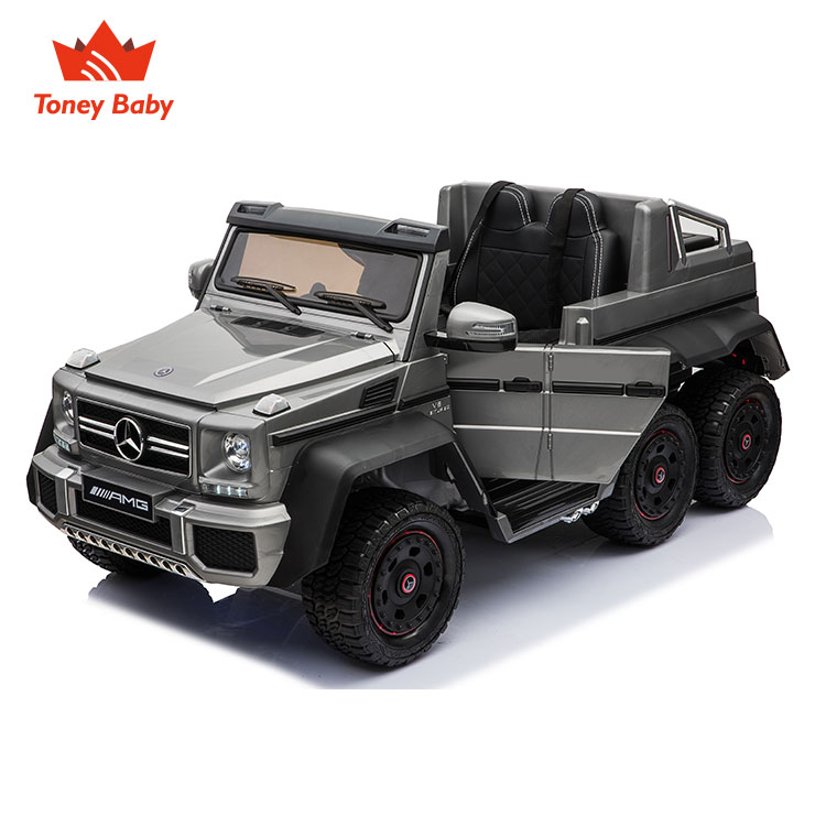 2018 Newest Benz G63 6X6 electric battery powered ride on kids car