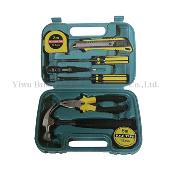 9PC Tool Box Set Cheap Tool Kit Set