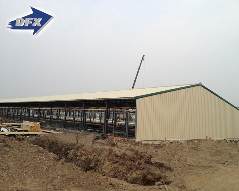 Automation Light Weight Steel Building Prefab Poultry Slaughter House