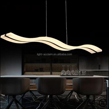 Mode Led Café Forme Luminaire plafonnier De Moderne Suspendu Moderne Product D'onde Plafonnier Pour Buy On Éclairage lampe Pendentif YfIb6gvy7