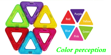 Triangle magnet sets toys for kids