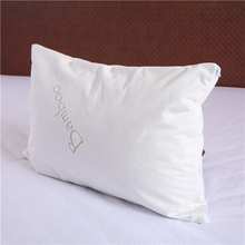 bamboo jacquard hospital zippered 100% waterproof pillow protector case