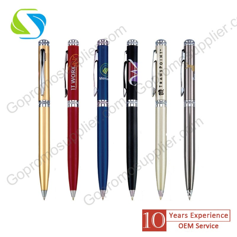 New Design Custom Logo Metal Pen
