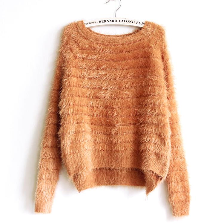 CASHMERE SWETER 100% Cashmere Sweater Women Sweaters and pullovers Pure Mink Cashmere Knitted Pullover ladies sweater