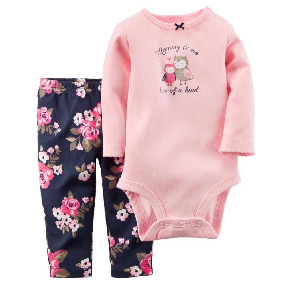 9c560f4eb8b8 Original Carters Baby Boys Girls Bodysuits Clothing Set Autumn ...