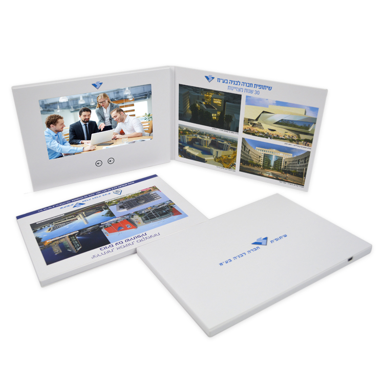 1.5/1.8/2.4/2.8/3.5/4.3/5/7/8/10 inch TFT LCD screen video greeting card for Invitation Gift