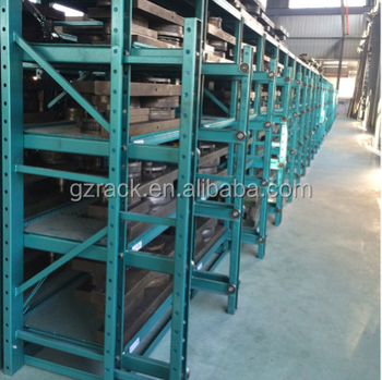 industrial storage mould rack with steel plate shelf for configuring drawer - Industrial Storage Racks