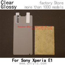 2x Clear Glossy LCD Screen Protector Guard Cover Film Shield For Sony Xperia E1 / E1 dual D2105