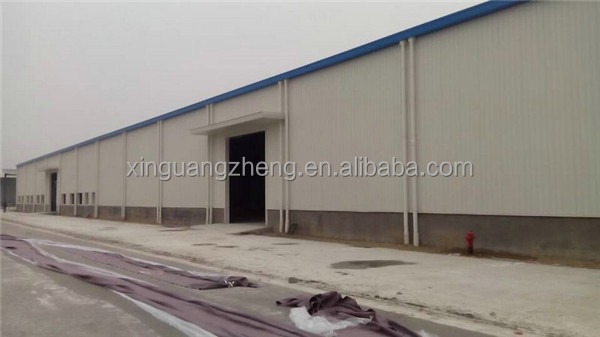 fabric metallic frame turnkey industrial shed