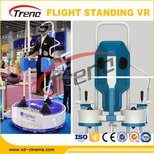 Fantastic Standing-Up Flight VR 5D/7D/9D VR full motion flight simulator with good Profitable Investment
