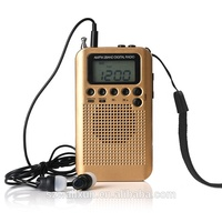 Factory hot sale Mini Am Fm Frequency Promotional Portable Radio
